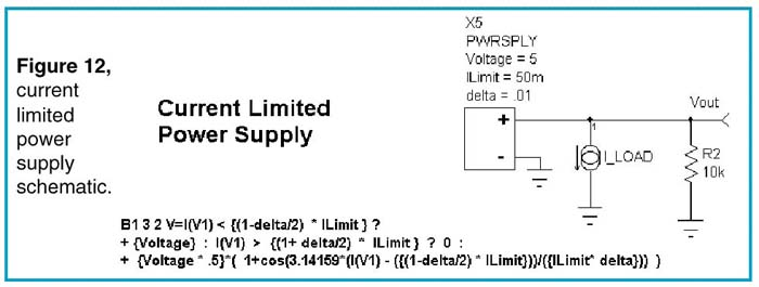 Current limited power supply schematic