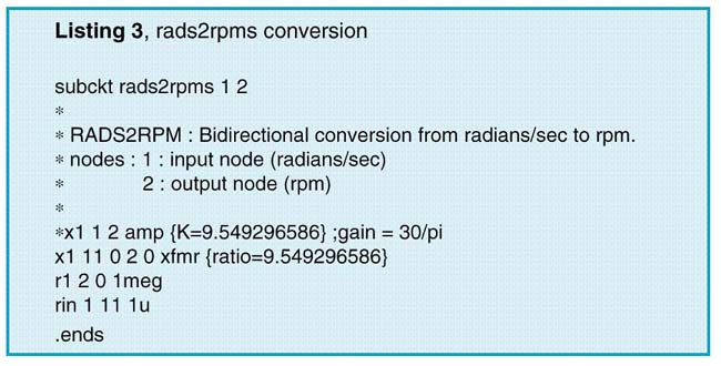 rads2rpms conversion